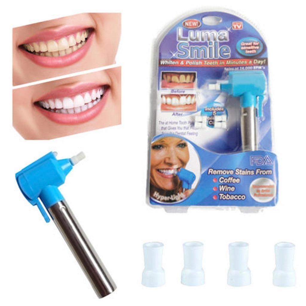 Luma Smile Polidor Clareador Dental 5 Refil Polidoras R 72 70