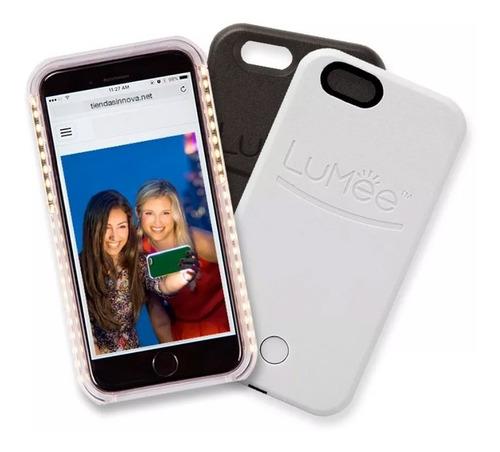 lumee case luz led selfie iphone 5s, 6, 6 plus, 7, 7 plus