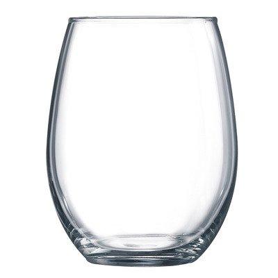 luminarc perfección la copa de vino sin pie (juego de 12),