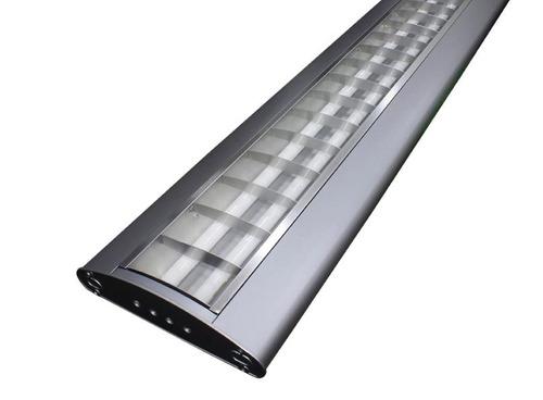 luminaria 20 x 1.20 compac opti 2 x 28 t5 6500 balasto multi