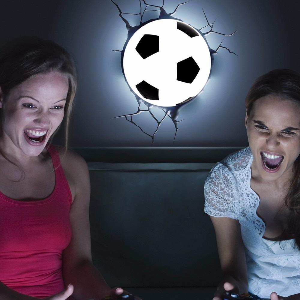 luminária 3d light fx bola de futebol edição especial brasil. Carregando  zoom. dc09b424379df