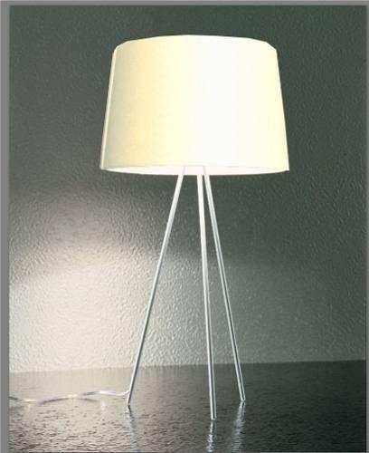 luminária - abajur com 61cm de altura - 127v cúpula branca