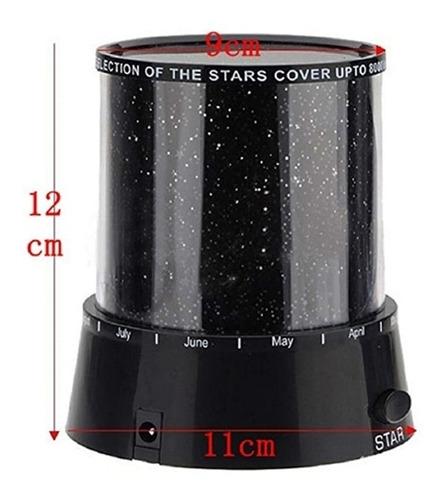 luminaria abajur projetor estrelas ceu estrelado star master