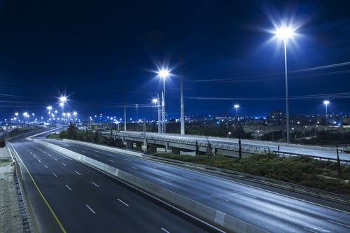 luminaria alumbrado publico vial led 100w = 250w sodio 220v