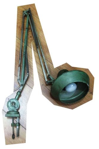 luminária antiga - prancheta desenho (vintage industrial)