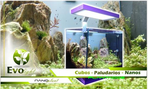 luminária aquário nano plantado evolight 48w