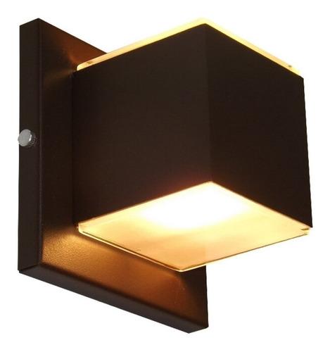 luminária arandela box parede interna externa 2 fachos