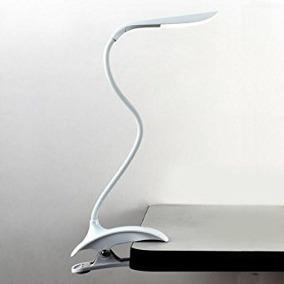 luminária clip de mesa recarregável touch led
