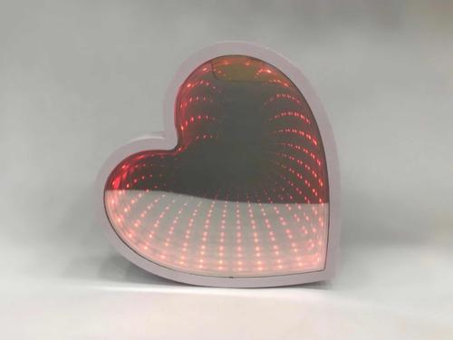 luminária coração decoração
