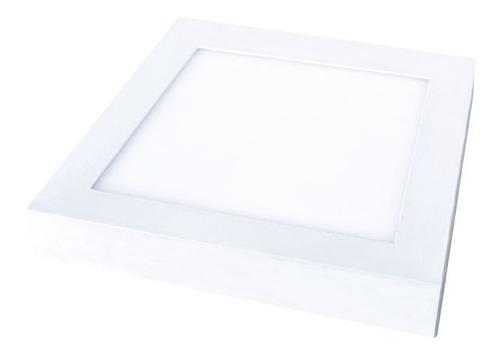 luminaria cuadrada led de aplicar 8w