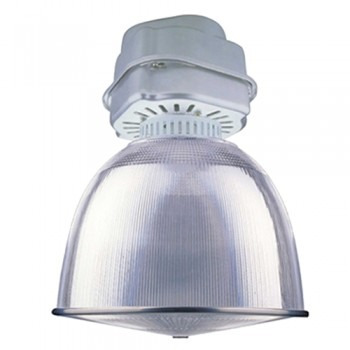 luminaria cupula 18  aluminio kit 400w  metal halide iadiexp