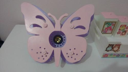 luminária de borboleta