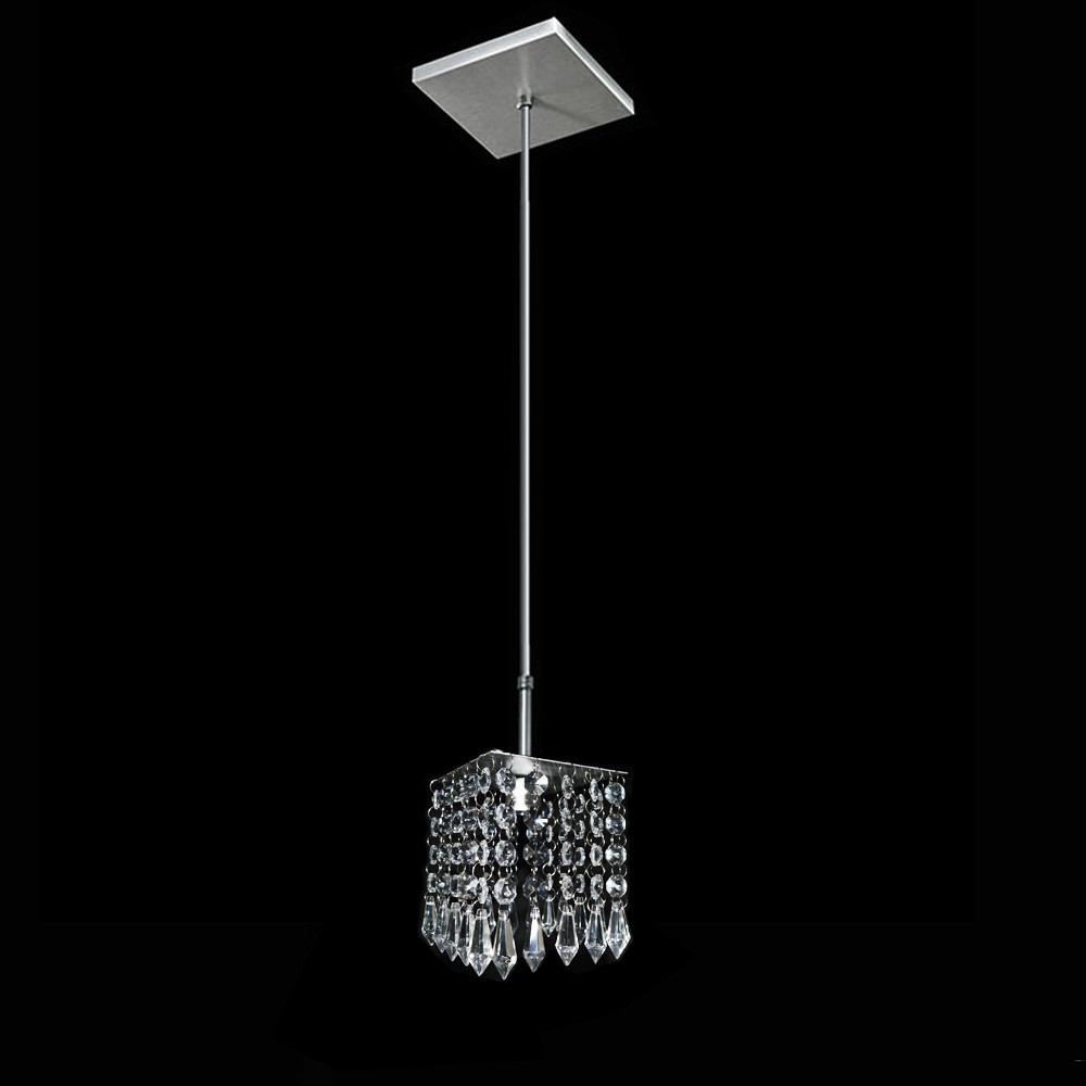 Luminaria De Cristal Para Sala Ou Quarto Frete Gratis R 144 34  ~ Porta Madeira Quarto Com Lustre Pendente Quarto