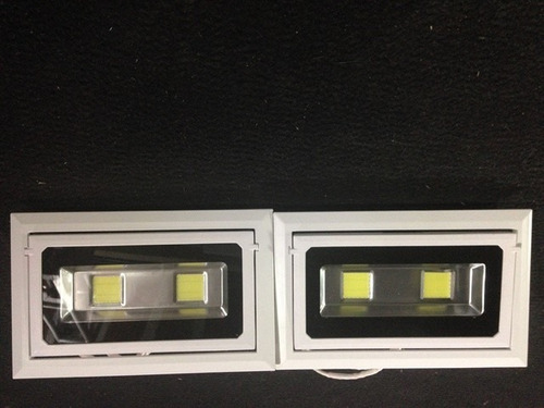 luminária de embutir para loja 40w ledpro