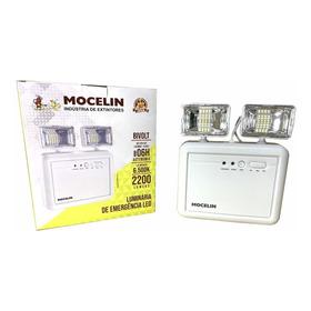 Luminária De Emergência 2200 Lumen C/ Bateria Aprovada Mocel
