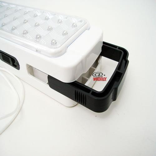 luminaria de emergencia 60 leds bivolt lanterna recarregavel
