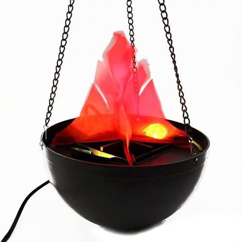 luminária de fogo chamas artificiais - bivolt - unidade