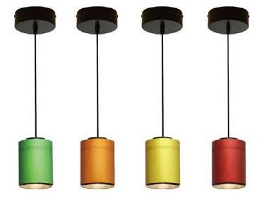 luminaria de led decorativa, domotica, dimerizable 17w