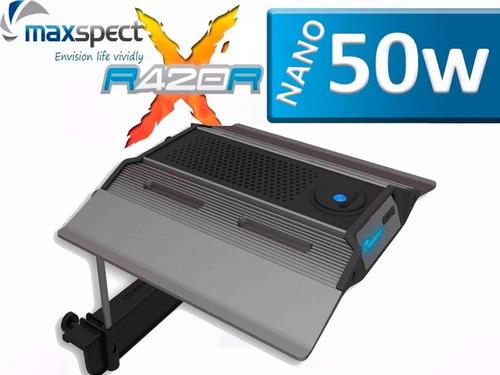 luminária de led maxspect rsx plantado 50w 45 a 70cm c\ nf