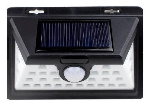 luminária de led sensor de presença energia solar