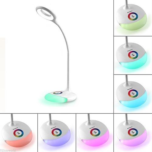 luminária de mesa ambilight led touch com base flexível