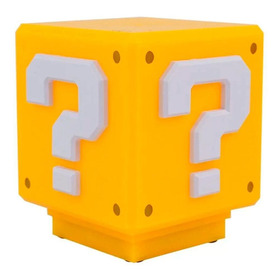 Luminária De Mesa Bloco De Interrogação Super Mario Bros