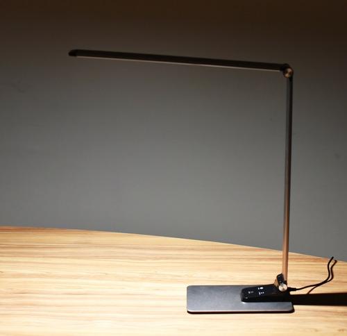 luminária de mesa luxo leitura estudo botão touch led