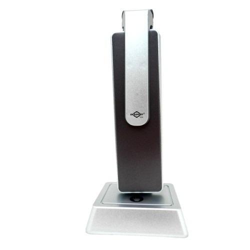 luminária de mesa recarregável touch slim 33 led bivolt