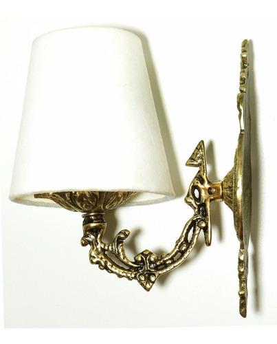 luminária de parede igual de novelas e filmes ( bronze shop)