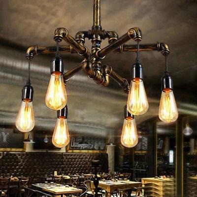 Industrial Techo Luminaria Loft Vintage Lámpara De Colgante QrstdhC