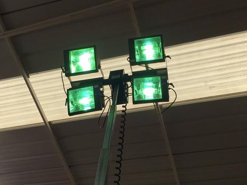 luminaria diesel torre de luz diesel lampara construcción