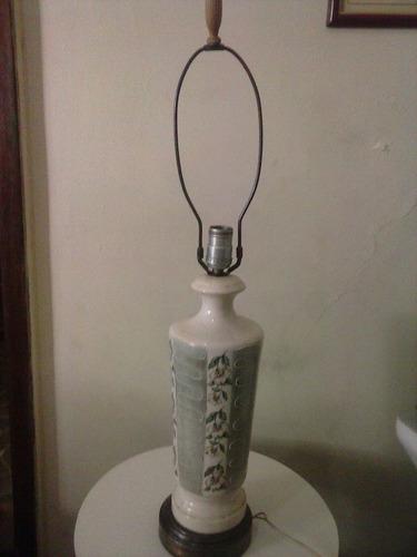 luminária em louça antigo