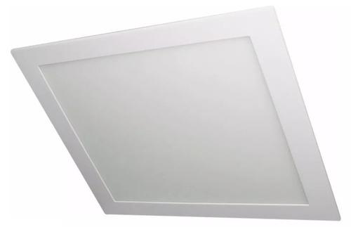 luminaria embutir 18w cuadrado etheos luz fria c60