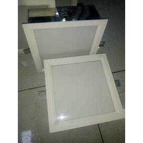 Luminária Embutir Tualux 20cmx20cm, P/ 2 Lâmpandas (usado)