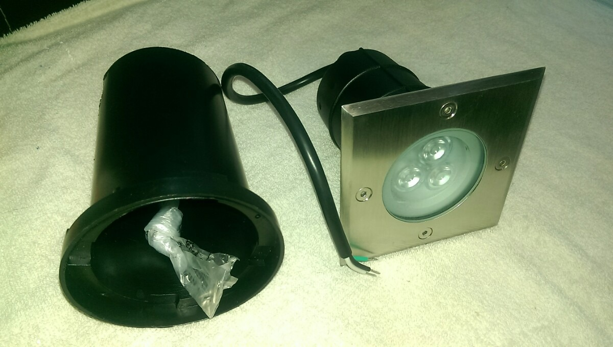 Luminaria Empotrable Piso Led 3w Tecnolite Envío Gratis Ofer $ 550 00 en Mercado Libre
