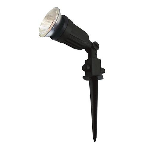luminária espeto solar balizador articulável p/ lâmp par 20