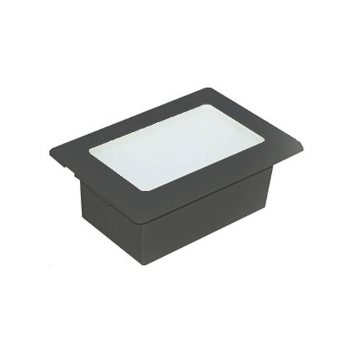 luminária externa embutida parede sem grade germany di
