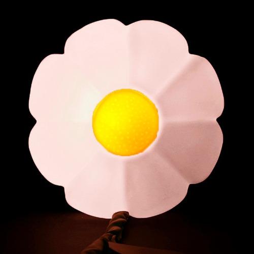 luminária flor (cabo verde) natural