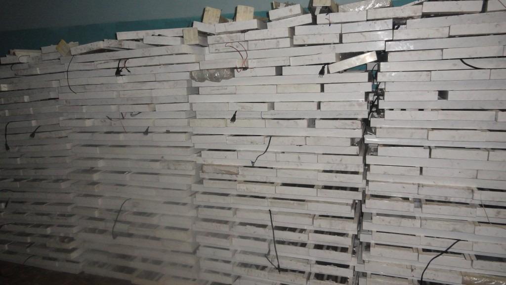 Luminaria fluorescente 2x40w r 20 00 em mercado livre - Luminaria fluorescente estanca ...