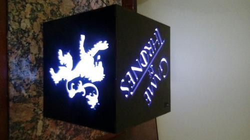 luminária game of thrones 20cm colorido