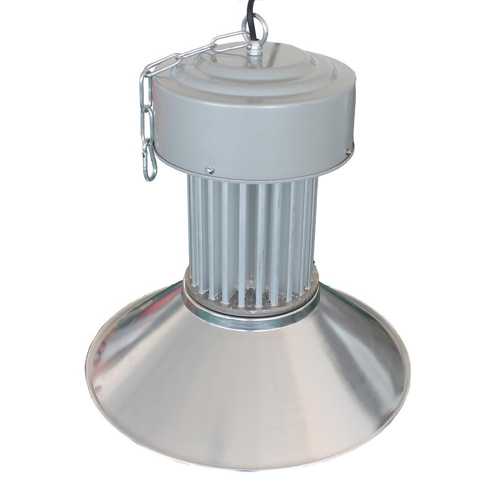 Luminária Industrial Led Branco 100w Fábrica Galp u00e3o Pavilh u00e3o R$ 249,90 em Mercado Livre