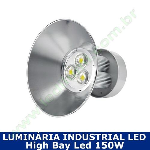 Luminaria Industrial Led High Bay 150w 6000k 15000 Lumens