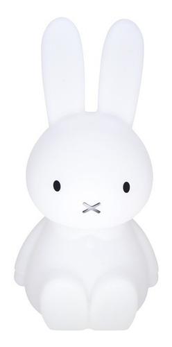 luminária infantil de coelho miffy abajur