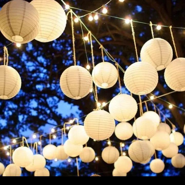 Luminaria Japonesa Decoração Festa Casamento - R  1 89eaf95385d