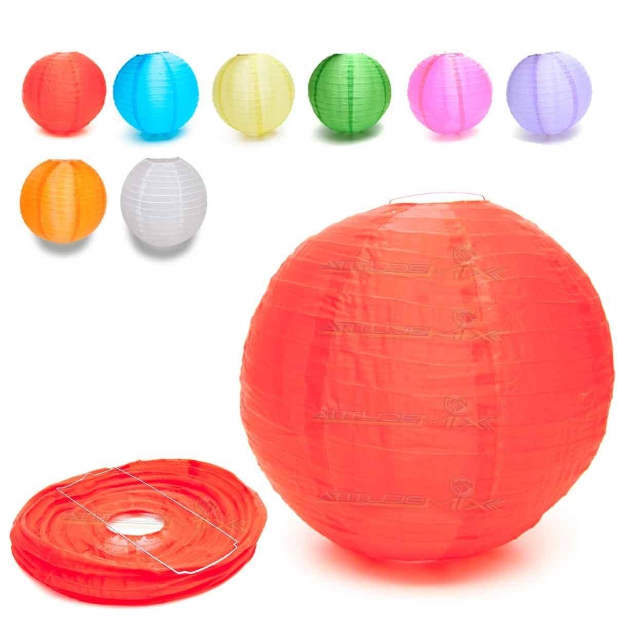 85b4425470d37 luminária japonesa chinesa papel bola cores - decoração 29cm. Carregando  zoom.