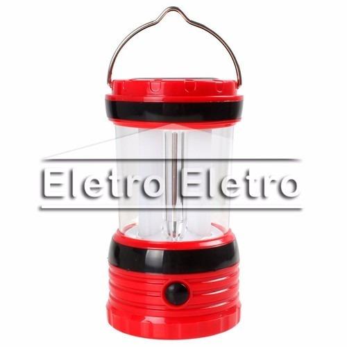 luminaria lampião recarregável bivolt solar pilhas
