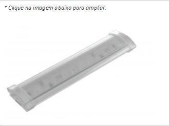 luminária led 12v prisma 24 led  p/ motorhome