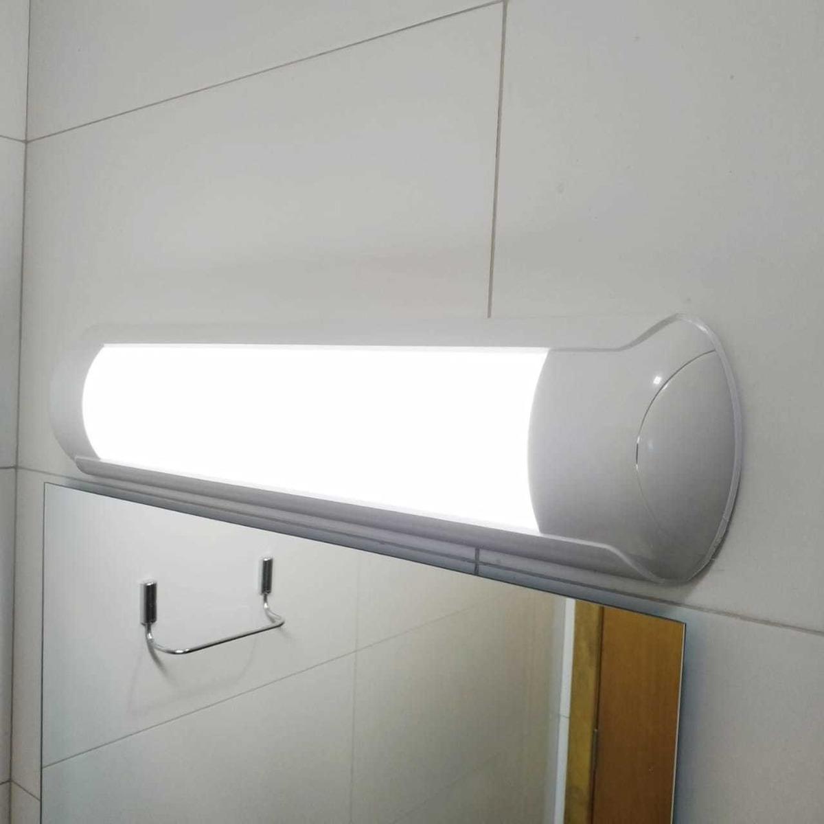 Luminária Led 18w 60cm Espelho Bwc Arandela Lâmpada Banheiro