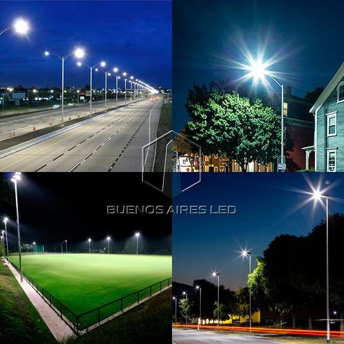 luminaria led calle 60w luz blanco frio alumbrado publico