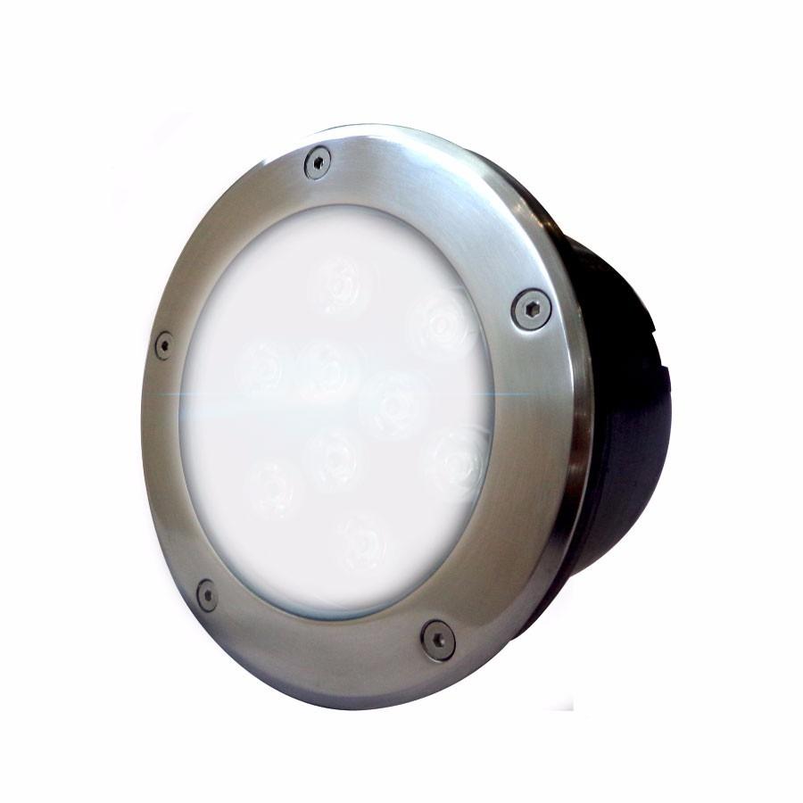 Luminaria Led Empotrable En Piso Luz Blanca 9w $ 667 00 en Mercado Libre